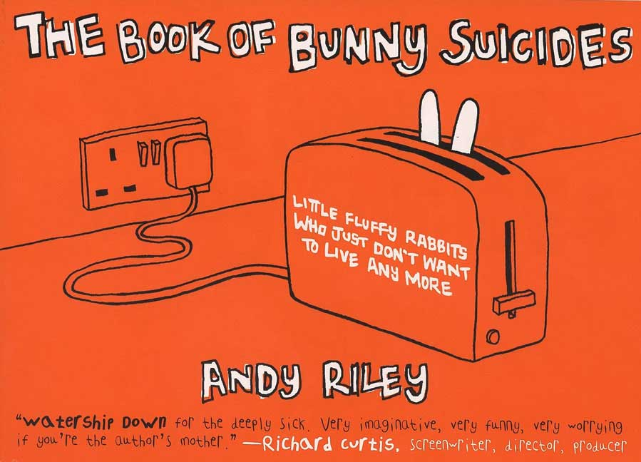 The Book of Bunny Suicides By Riley, Andy
